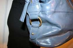 Large Oversized BODEN Patent Leather Hobo Tote Bag Handbag Purse