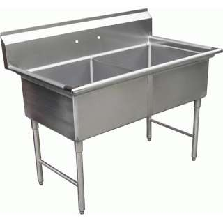compartment Stainless Steel Commercial Sink 15x15 NSF