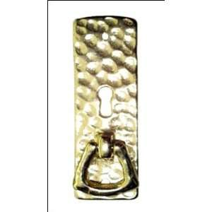 Cast Brass Mission Style Cabinet Door Pull   Antique Brass