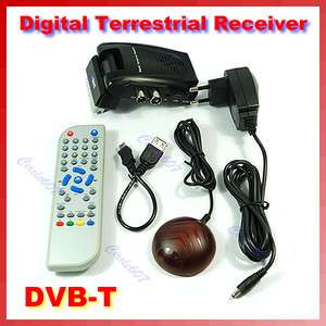 EU Scart DVB T TV Digital Terrestrial Remote Receiver