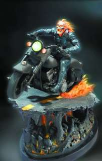 Chrome Ghost Rider Statue SOLD OUT 1000 LTD Spirit of Vengeance