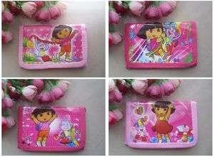 PCS Dora the explorer 3 Fold Wallet Purse Card Bag #2
