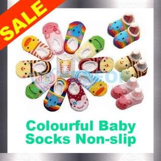 Cute Baby Kids Toddler Ankle Socks Non slip Booties PL