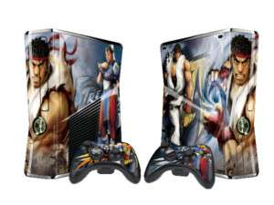 XBOX360 slim DECAL GAME Super Street Fighter skin X058
