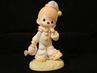 eg Precious Moments Rare Chapel Exclusive CLOWN/Smile |