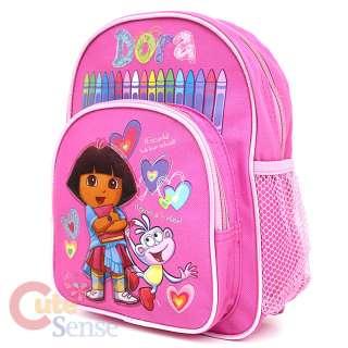 Dora The Explorer Boots School Backpack Toddler Bag 10