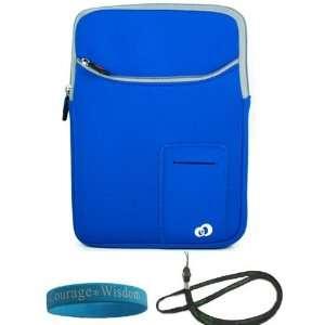 Blue MSI Wind U100 U120 10 Inch Netbook Neorpene Sleeve Case with Mini