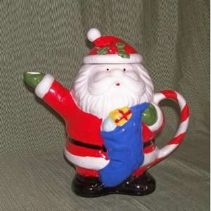 Ceramic Santa Claus Teapot   by Enesco: Everything Else
