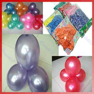 Birthday Wedding Valentine Party Latex Christmas Decorations Balloons