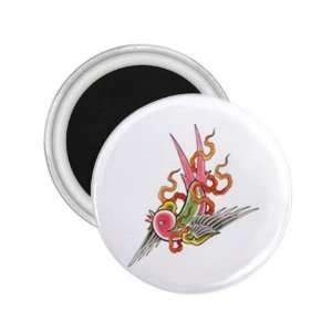 NEW Tattoo Swiftlet Bird Fridge Souvenir Magnet 2.25 Free