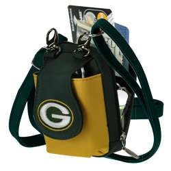 Green Bay Packers Embroidered Game Day Purse / Camera /Cell Phone Case
