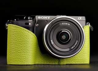 COW leather case bag cover for SONY NEX7 NEX 7 Camera   7 color