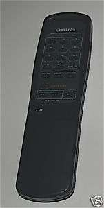 AIWA REMOTE CONTROL RC CD504 FOR AUDIO STEREO SYSTEM