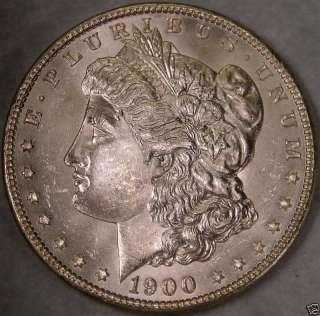 1900 O/CC MORGAN SILVER DOLLAR EXTREMLY RARE VERY HIGH QUALITY CHOICE