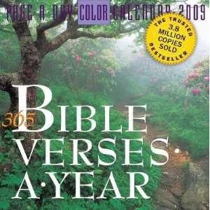 365 Bible Verses A Year 2009 Calendar Workman Publishing