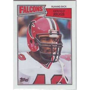 1987 Topps Football Atlanta Falcons Team Set Sports
