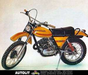 1975 Ossa 250cc Super Pioneer Motorcycle Factory Photo