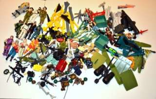 Vintage GI Joe Lot Figures, Weapons & Parts