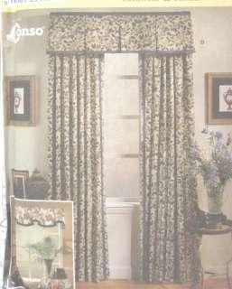 Window Treatments Home Dec Pattern 8799 Valance Panel