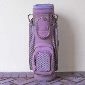 Vintage Ladies Calina Misty Mauve Golf Bag  Used