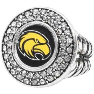 Southern Miss Golden Eagles Team Logo Crystal Ring Sports & Outdoors