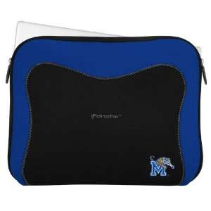 NCAA Memphis Tigers Black Royal Blue Neoprene Laptop
