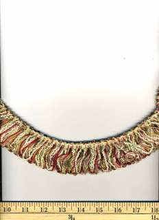 Description This is a decorative brush fringe trim that can be