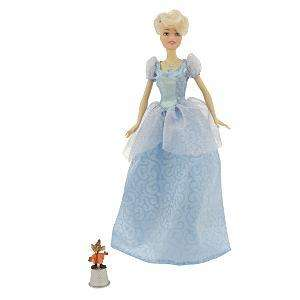 DISNEY PRINCESS CINDERELLA SINGING DOLL DUETS W JAQ