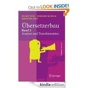 Übersetzerbau 3 (eXamen.press) (German Edition) Helmut Seidl