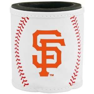 San Francisco Giants White Baseball Can Coolie