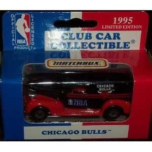 Chicago Bulls 1995 NBA Diecast Chevy Sedan Truck