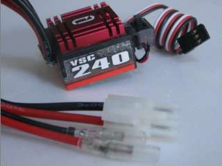 New VSC 240A 160A Brushed Speed Controller ESC 5V 1A for 1/10 RC Car