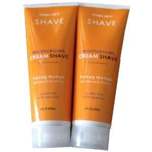 (2 Pack) Trader Joes Honey Mango Moisturizing Shave Cream