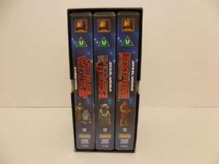 1995 Ltd Edition Box Set Star Wars Trilogy VHS (DVD)