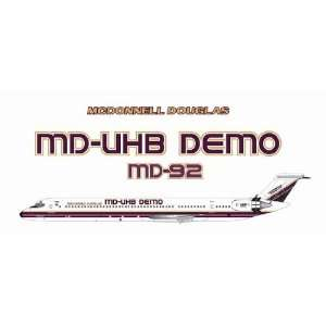 Jet X 200 MD UHB Demo (MD 92) Model Airplane Everything