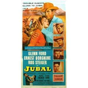 Jubal Movie Poster (11 x 17 Inches   28cm x 44cm) (1956) Style C