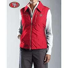 Cutter & Buck San Francisco 49ers Womens WeatherTec Alegro Vest