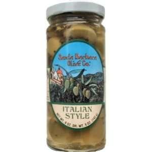 Santa Barbara Olive Co. Italian Style Green Spiced Olives