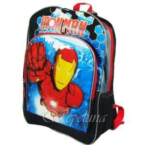 Iron Man Full Size School Boys Backpack Toys & Games