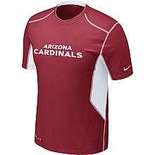 Nike Arizona Cardinals Sideline Hypercool Speed Dri FIT T Shirt