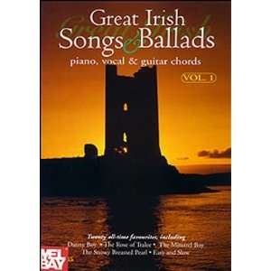 Great Irish Songs & Ballads: Piano, Vocal & Guitar Chords