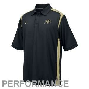 Nike Colorado Buffaloes Black Goal to Go Performance Polo
