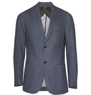 Blazers  Single breasted  Unstructured Two Button Wool Blazer