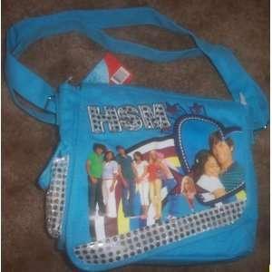 High School Musical DJ Messenger Bag Tote Blue