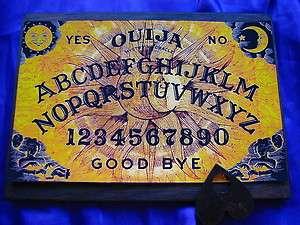 Bizarre Magick Sun & Moon Fortune Ouija Board & Planchett Occult