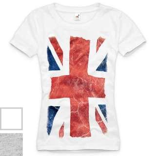 UNION JACK T Shirt Damen england london großbritannien XS S M L XL