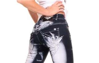 VERY VERY SEXY CRAZY AGE JEANS IN THIS COOL SCORPION STYLE. SIZES UK 6