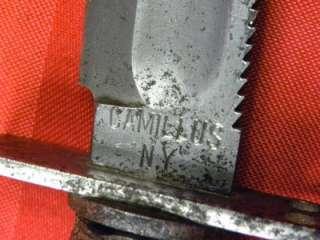 US Vietnam Era Pilot Survival Camillus 6 Knife Dagger