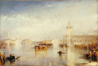 JOSEPH MALLORD WILLIAM TURNER Venedig, Dogana, San Giorgio, Citella