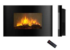 GTC ll Mounted Electric Fireplace Control Remote Heater Adjustable